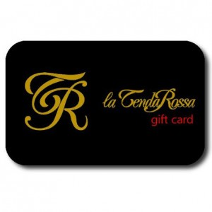 la tenda rossa -gift card shop
