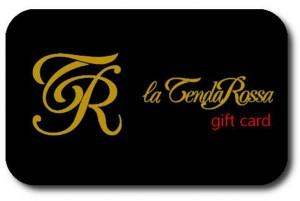 la tenda rossa - gift card