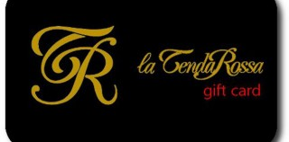 la tenda rossa - gift card