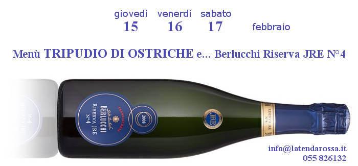 15 16 e 17 febbraio TRIPUDIO DI OSTRICHE e FRANCIACORTA BERLUCCHI