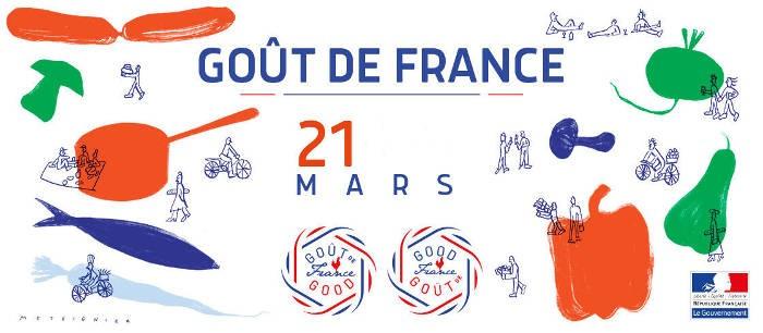 21 marzo 2019 GOÛT DE FRANCE alle ore 20.30|Un'occasione unica per assaporare la Francia
